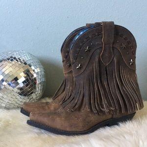 Durango Fringe Cowgirl Boots